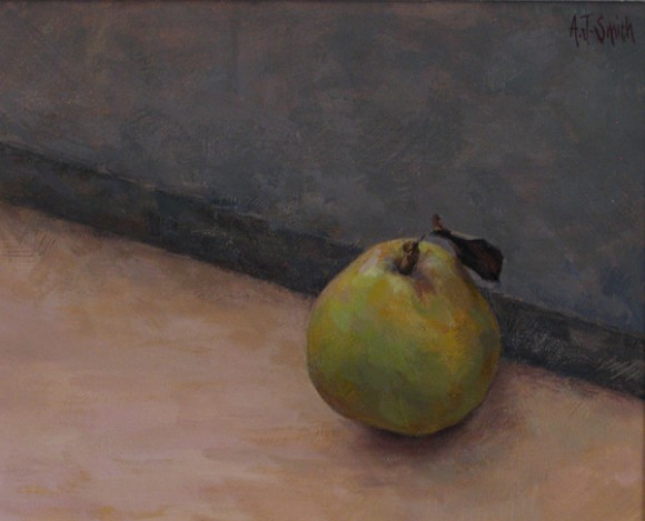 Diagonal Pear  |  Private Collection
