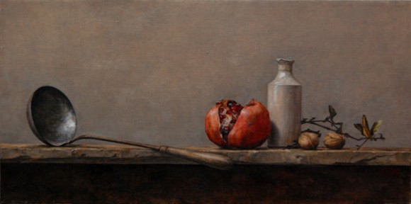 Ladel with Pomegranate  |  Private Collection
