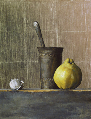 Still Life With Quince | Private Collection