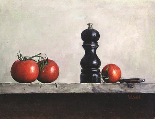 Tomatoes Pepper Mill