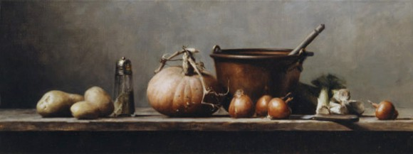 Pumpkin and Leek | Private Collection