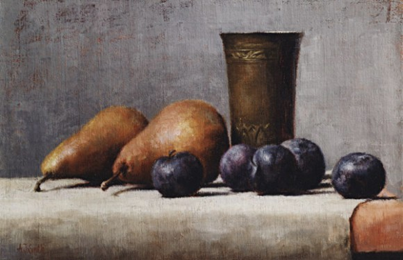 Pears And Plums | Private Collection