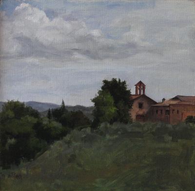 Cloisters At Montefiridolfi