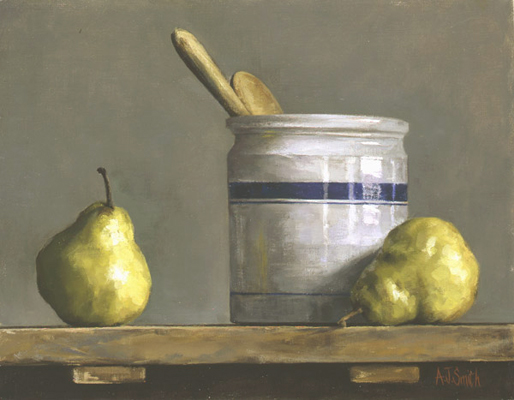 Green Pears | Private Collection
