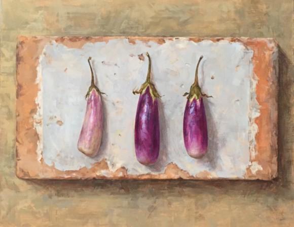 Trio Of Aubergines